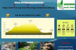Bizkaiko xendazaletasun IV.liga/IV.liga de senderismo de Vizcaya: Lemoa