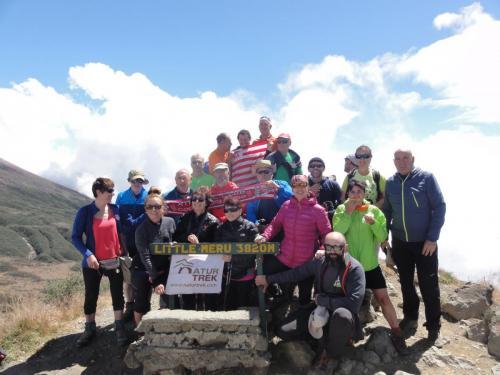 Kilimanjaro - Refugio Miriakamba-Little Meru-Refugio Saddle